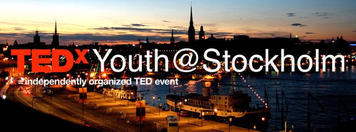 TEDXYOUTHSTOCKHOLM NEGIN AZIMI STOCKHOLM