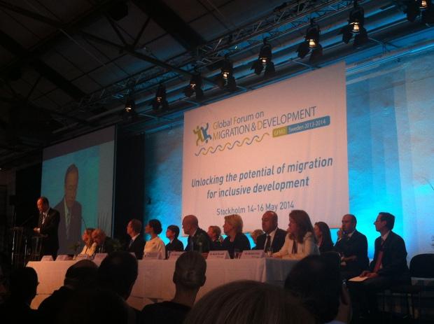 Ban ki Moon Negin Azimi Migration Utveckling Fryshuset  FN