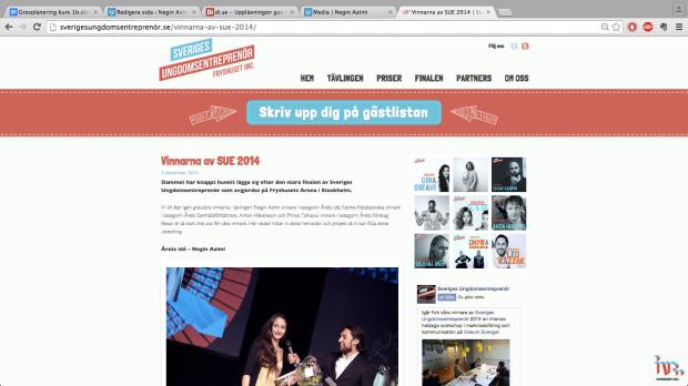 Negin Azimi-Sveriges ungdomsentreprenör