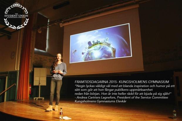 Negin Azimi- entreprenör-kungsholmens gymnasium