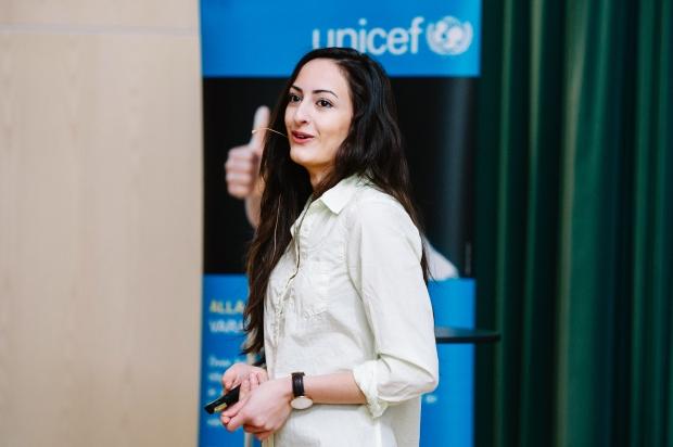 Negin Azimi- Unicef- Foto: Linda Svensson