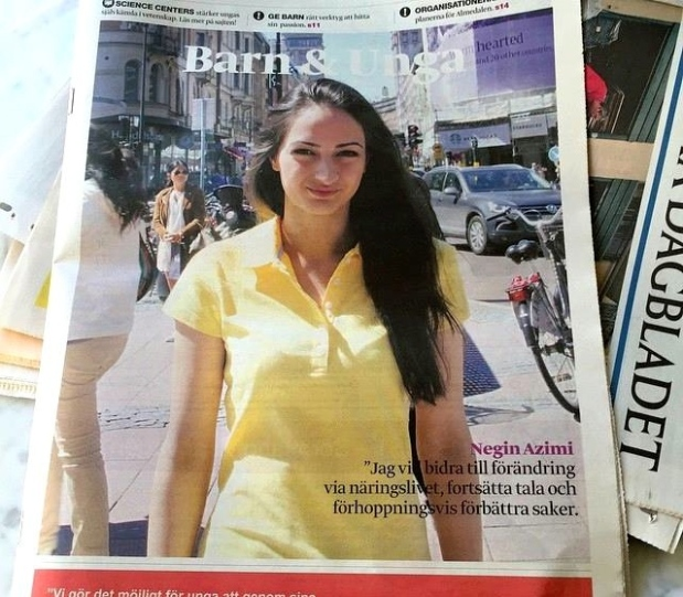 Negin Azimi- Svenska dagbladet